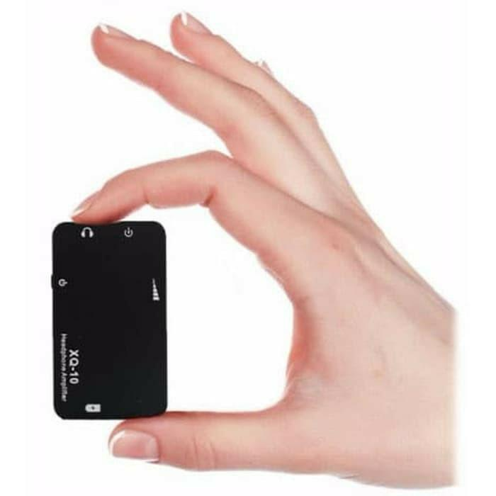 xDuoo XQ-10 Mini Portable Headphone Amplifier Aluminium Case With Knob Volume Analog Slide Process