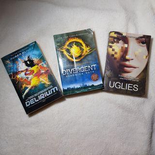 #ramadansale Paket Novel Terjemahan Young Adult Dystopian (Divergent, Uglies, Delirium)
