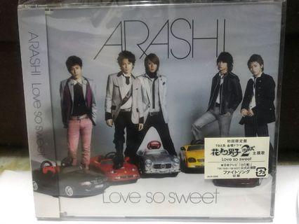 Arashi-Love so Sweet (初回限定盤)