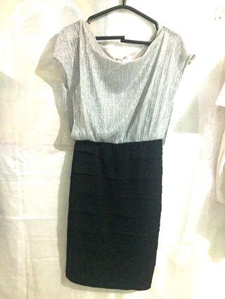 Dress wanita - greydress/dress abu