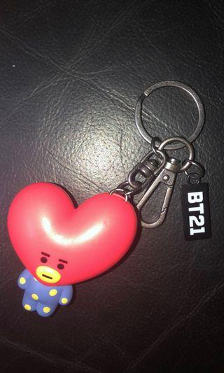Bts V tata bt21鎖匙扣 key ring
