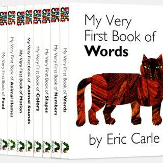 My Very First Book of by Eric Carle (Board Book Box Set) - 8 pcs