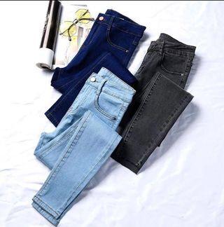 [BN] AA-inspired Basic Denim Skinny Jeans