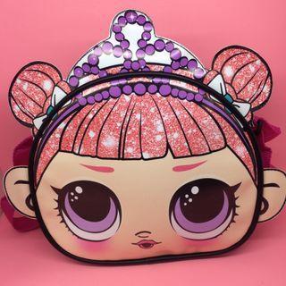Tas selempang anak LOL mahkota