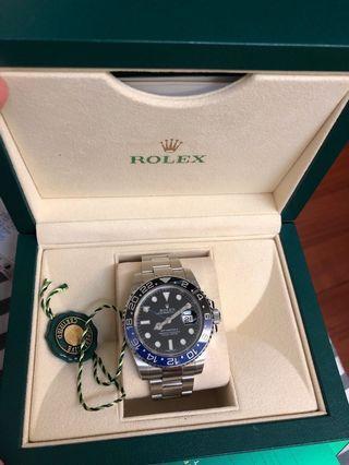 Rolex gmt batman 116710BL