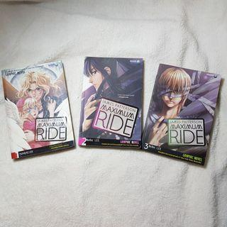 #ramadansale Paket Graphic Novel Terjemahan - Maximum Ride by James Patterson