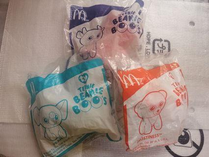 Mcdonalds Cute teenie babies snort, peanut, frostiness
