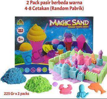 #mauvivo Magic Sand Mainan Pasir Kinetik