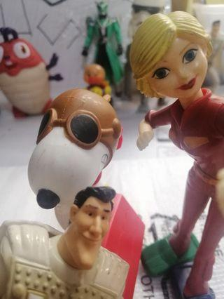 Mcdonalds Vintage Toy set