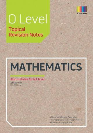 GCE O Level Mathematics Topical Revision Notes
