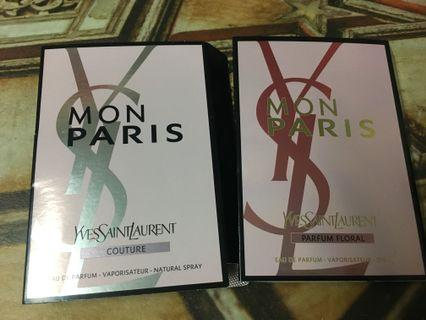 YSL mon Paris perfume ( couture/ flora)