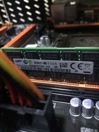 🆕Samsung DDR3 ECC REG 1866 8GB 16GB