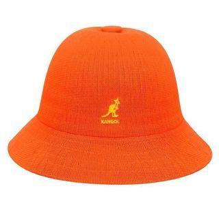 Kangol竹編鐘型帽