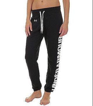 bnwt black UA sweatpants