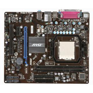 微星 NF725GM-P31 固態電容主機板、AM3+腳位、支援DDR3、PCI-E、拆機良品、附擋板