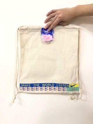 Nike 帆布索袋