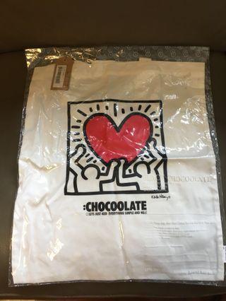 Chocoolate x Keith Haring Tote bag