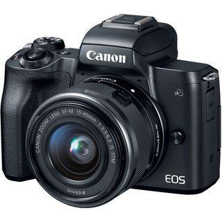 誠徵 Canon EOS M50 BODY KIT SET 都可以 另外一支  EF-M 11-22mm f/4-5.6 IS STM