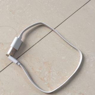 #MAUVIVO  kabel android warna putih pendek