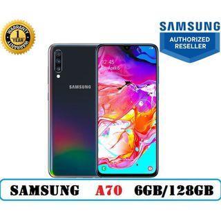 Local Set Galaxy A70 (6GB/128GB) with 1 Year Warranty