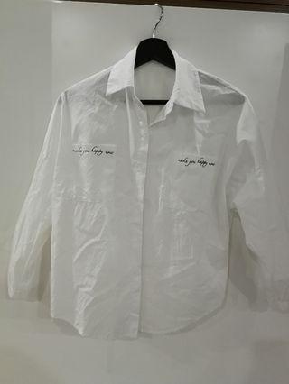 Korea Style White Top