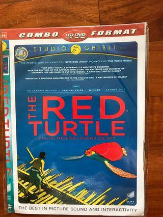 #mauvivo the red turtle