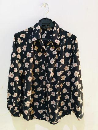 #mauvivo kemeja motif bunga