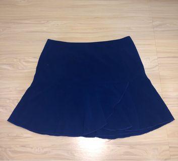 Mini Skirt Celana Rok Biru