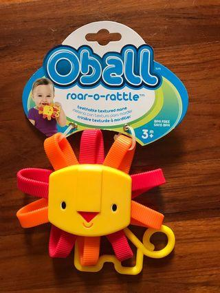 #mauvivo oball teether