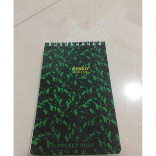 #MAUVIVO Notebook warna hijau kecil