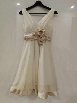 Yellowish Dinner Dress