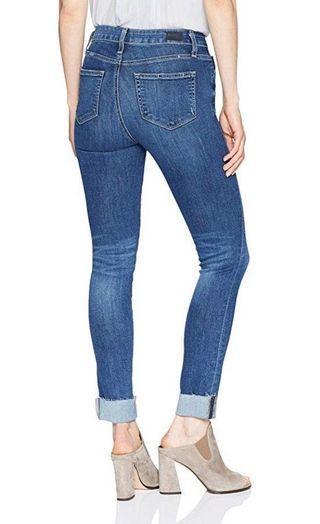 ✨ LIKE NEW ✨ Paige Hoxton ankle peg skinny blue jeans | size 24
