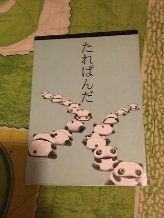 日本製趴地熊1999信紙