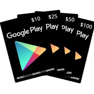 S>Google Play Gift Card (USD)