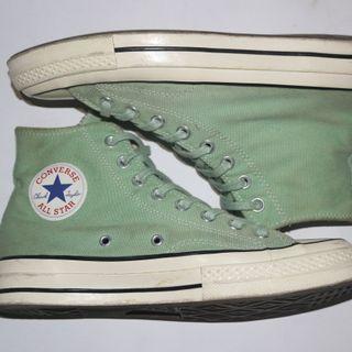 Converse jade green
