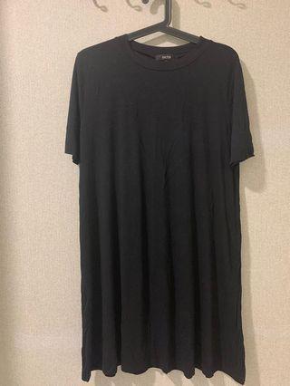Nichii Black Midi Dress/ Top