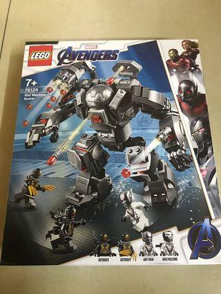 Lego avengers war machine buster 76124