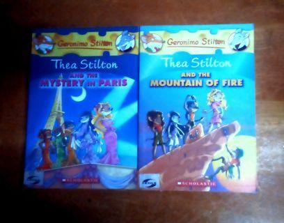 Thea Stillton Mountain on Fire and Mystery in Paris