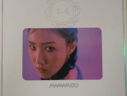 WTT/WTS Mamamoo Hwasa photcard