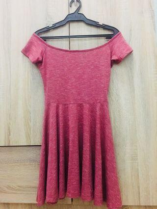 BNY offshoulder dress