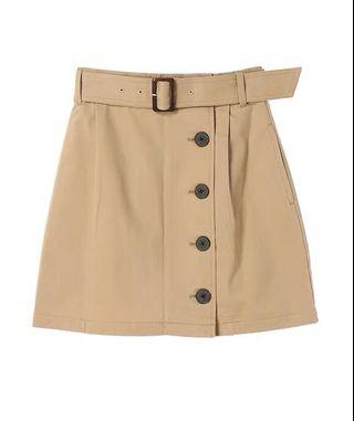 🚚 Burberry Classic Button Down Skirt