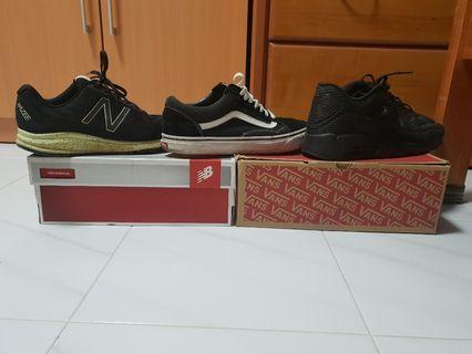Nike/vans/NB
