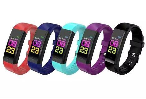 Colour screen bluetooth fitness smartwatch