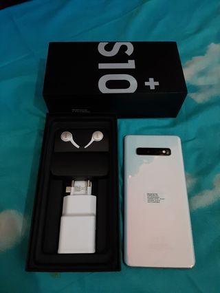Samsung Galaxy S10+ Prism White 128GB SEIN