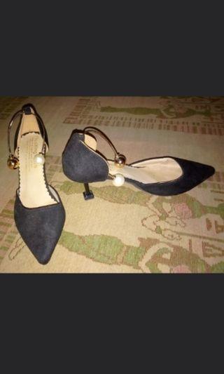 Jual rugi sepatu wanita sepatu High hills jarwel , sepatu hak cewek