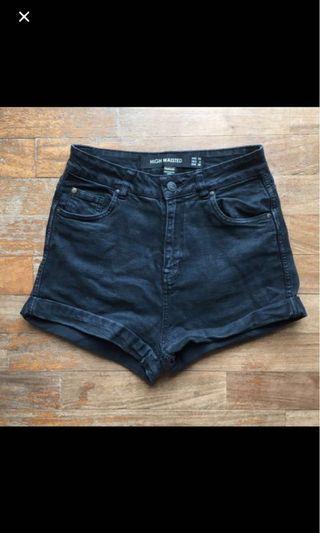 🚚 Factorie Black Shorts