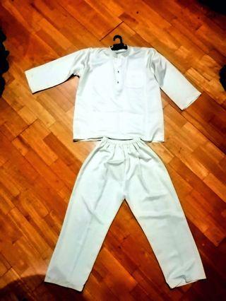 Kids Baju Melayu (cream colour)