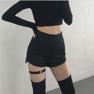 高腰性感短褲