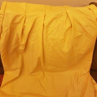 Traditional Yellow Curtain