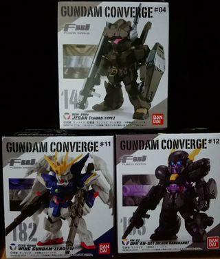 FW Gundam Converge 143 182 193